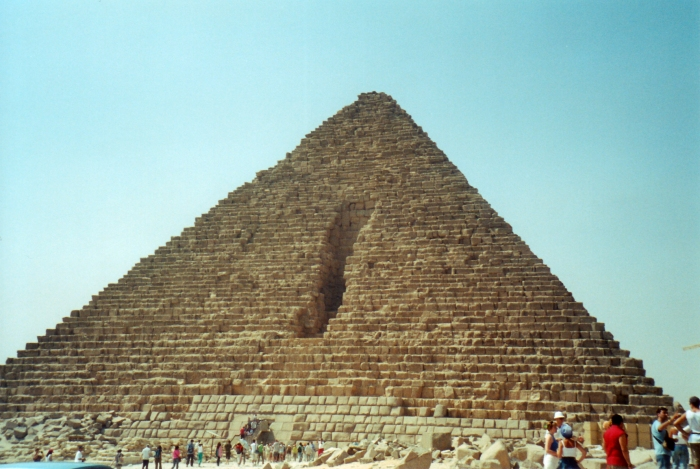 Pyramid of Mycerinus in Giza